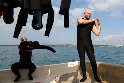 Bireysel Su Ürünleri Dalgıçları, Deniz Patlıcanı Avcılığı
